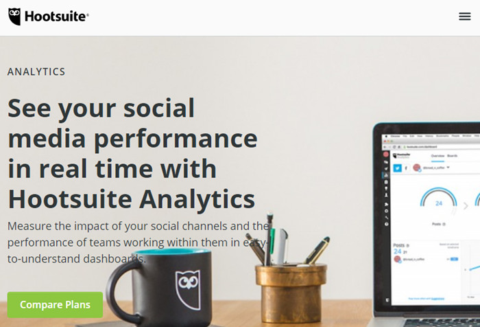 Best Alternatives to Social Blade - HootSuite Analytics
