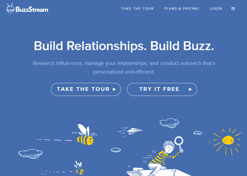 Best Online Influencer Outreach Agency - BuzzStream