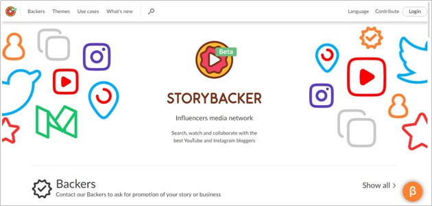 Contact YouTube Users with Helpful Tools - Storybacker
