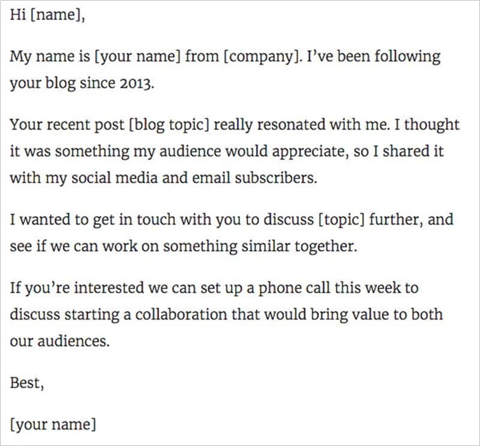 How to Contact YouTubers for Collab - Start a relationship email