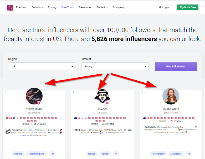 How to Find Instagram Influencers -Preview Influencers