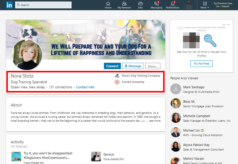 How to Find LinkedIn Influencers - Searching Through Biographies