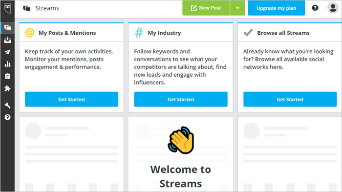 HootSuite Review and Its Best Alternatives - Explore the Interface