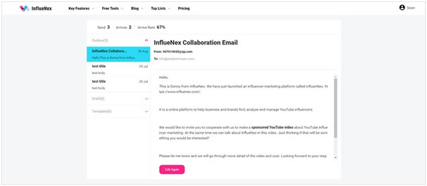 How to Contact YouTube - Send invitation email