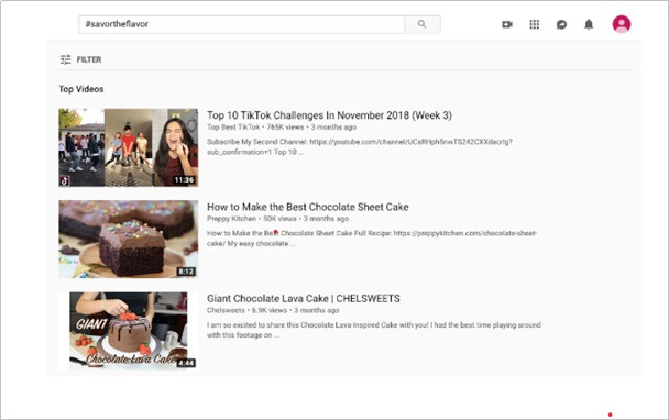 How to Contact YouTube - Search for trending hashtags