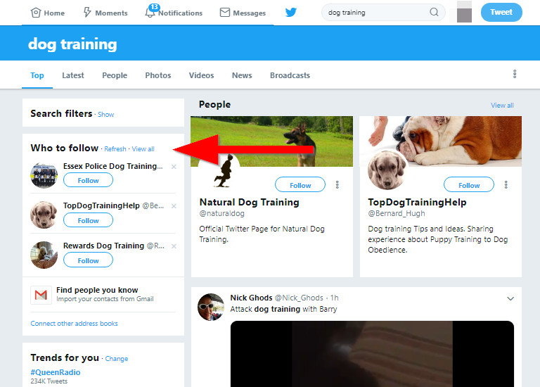 How to Look for Twitter Influencer Rating - Find Influencer from Who to Follow Feature