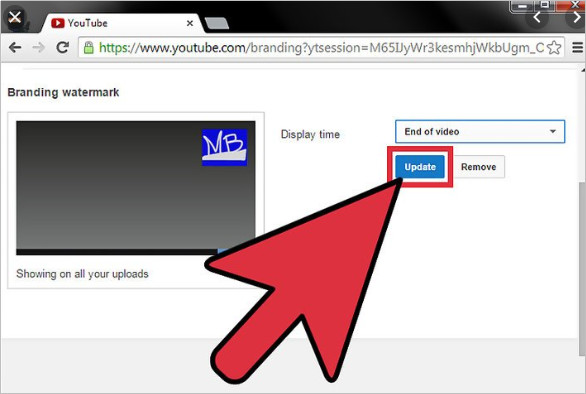 How to Optimize Your YouTube Channel - Put Watermark to Your Video