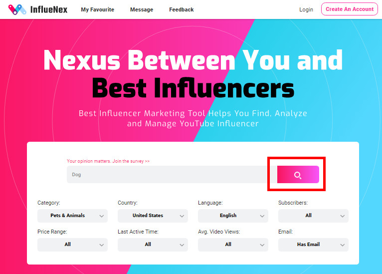 Most Helpful Influencer Marketing Statistics in 2019 - Click Search Button