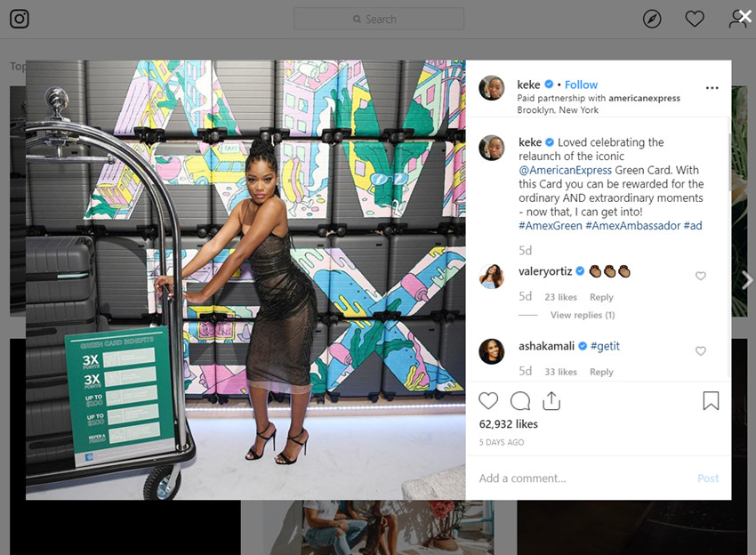 Best Influencer Outreach Case Studies - #AmexAmbassadors Instagram Campaign
