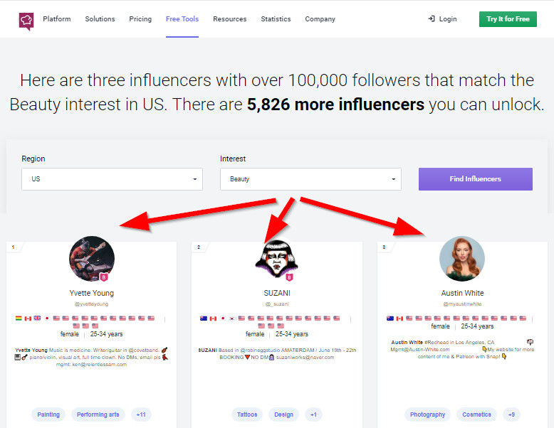How to Check Instagram Influencer Quality - Check Out Provided Influencers