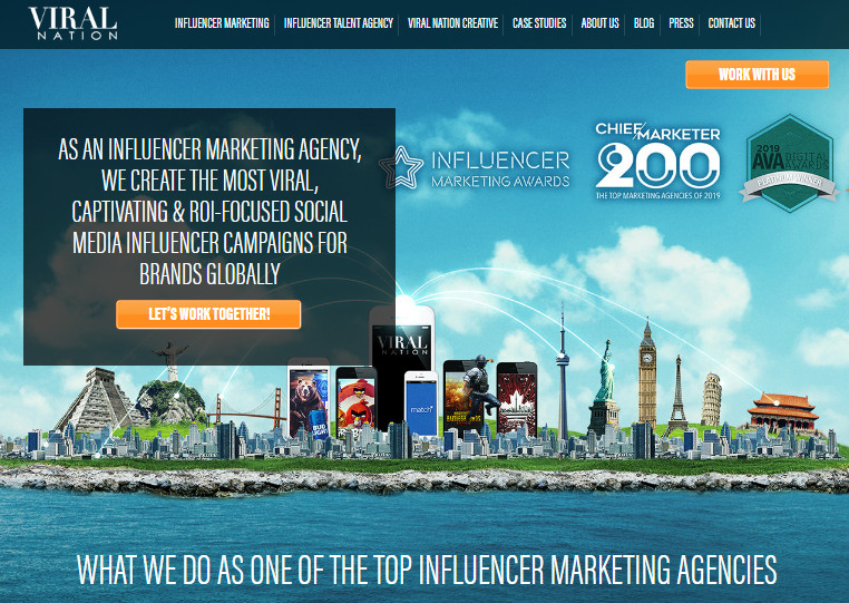 Most Helpful Influencer Marketing Agencies - Viral Nation