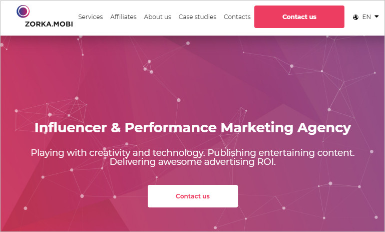 Most Helpful Influencer Marketing Agencies - Zorka.Mobi