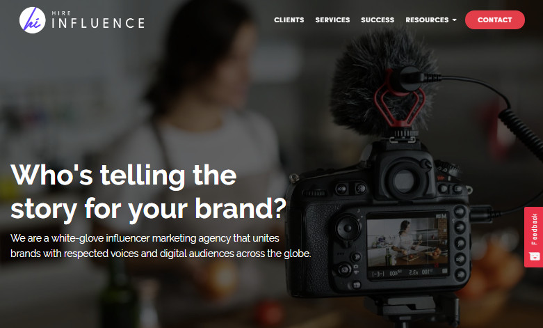 Most Helpful Influencer Marketing Agencies - Hire Influence