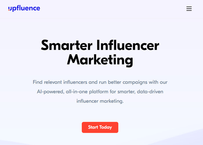 Most Helpful Influencer Database to Find Influencers - Upfluence