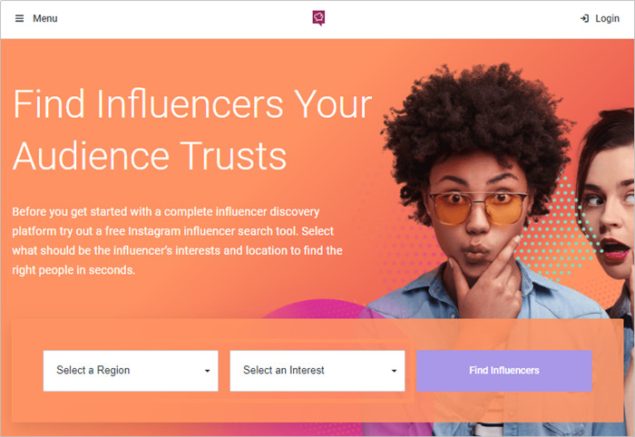 Most Helpful Influencer Database to Find Influencers - socialBakersw