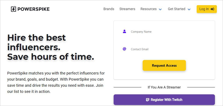 Twitch Influencer Outreach - Powerspike
