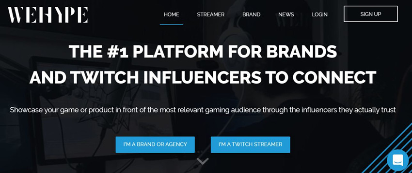 Twitch Influencer Outreach - WeHype
