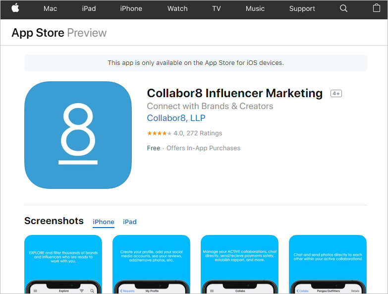 Use Influencer Apps to Find Social Media Influencers - Collabor8
