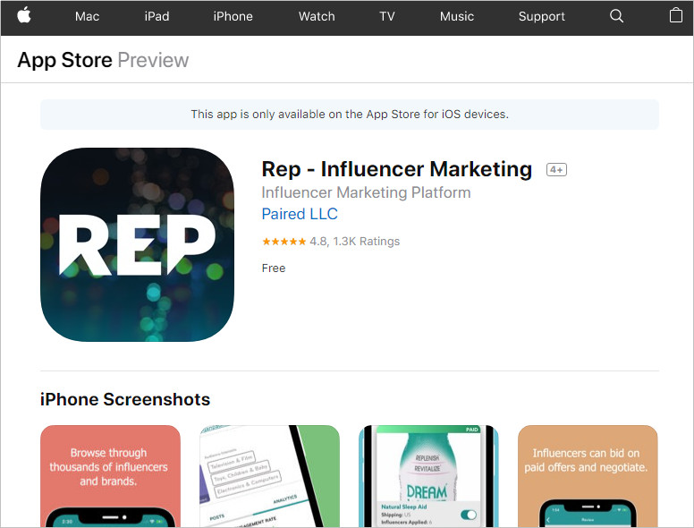 Use Influencer Apps to Find Social Media Influencers - Rep