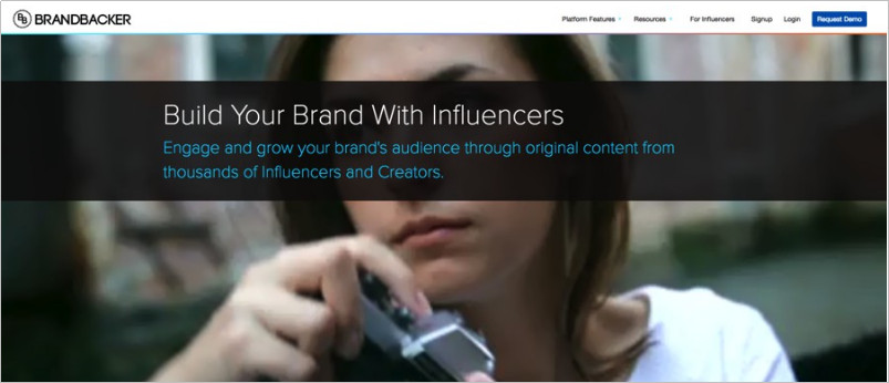 Use the Best Influencer Marketplace to Find Influencers - BrandBacker
