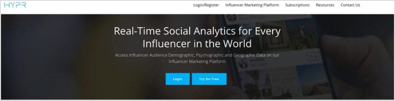 Use the Best Influencer Marketplace to Find Influencers - Hypr