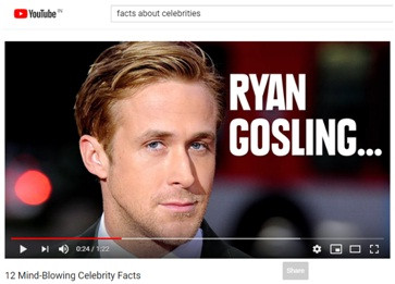 Learn Different Types of YouTube Content - Celebrity
