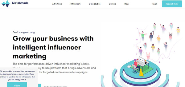 Influencer Network Service - Matchmade
