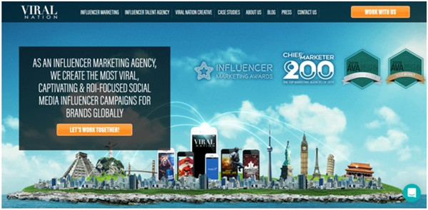 Social Media Influencer Agencies - Viral Nation
