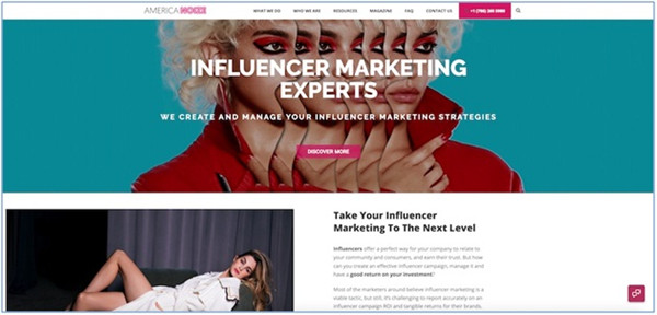 Social Media Influencer Agencies - Americanoize