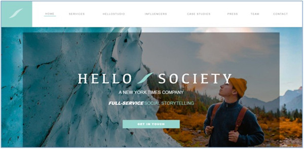 Social Media Influencer Agencies - Hello Society