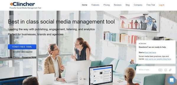 Best Social Media Marketing Tools - eClincher