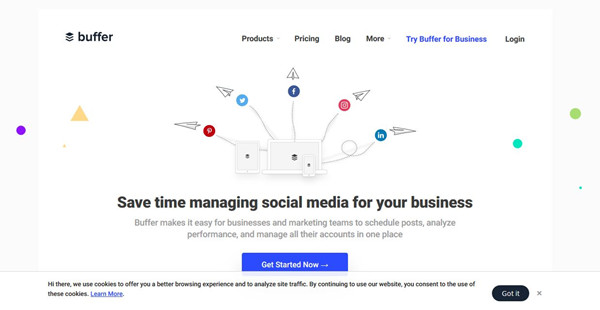 Best Social Media Marketing Tools - Buffer