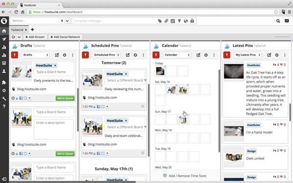 Best Social Media Marketing Tools - HootSuite